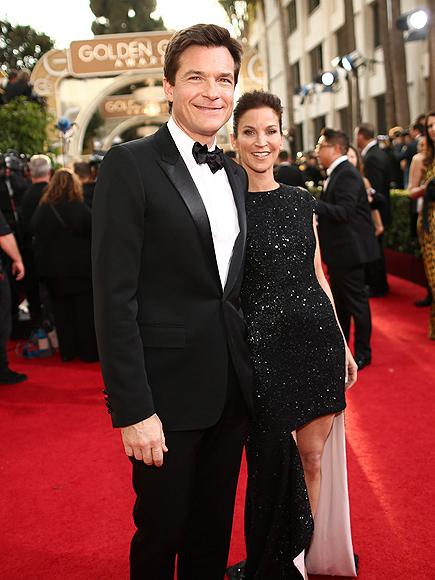 Джейсон Бэйтман с женой