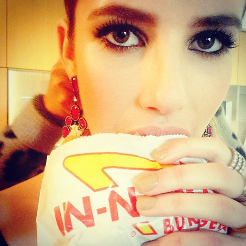 BURGER QUEEN photo | Emma Roberts