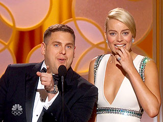 Oops! See How Jonah Hill & Margot Robbie Handled Their Globes Gaffe