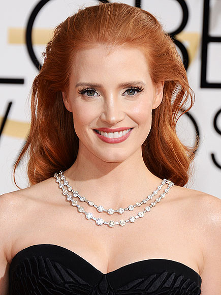 JESSICA'S BLOWN-BACK HAIR photo | Jessica Chastain