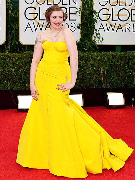 LENA'S YELLOW photo | Lena Dunham
