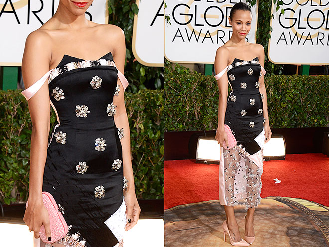 ZOË'S EMBELLISHMENT OVERLOAD photo | Zoe Saldana