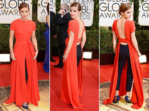 Emma Watson Golden Globes