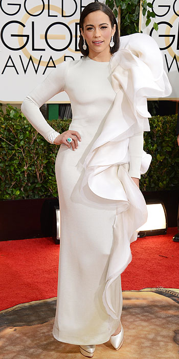 Paula Patton Golden Globes 2014