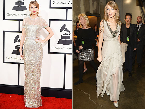 Taylor Swift Grammy Awards style