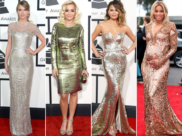 Taylor Swift, Rita Ora, Chrissy Teigen, Ciara Grammy Awards style