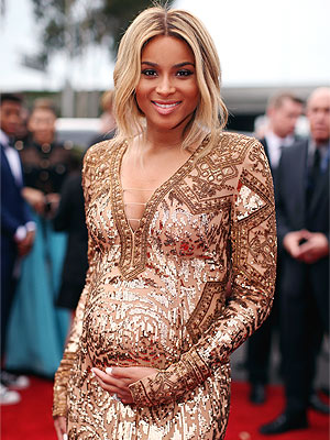Ciara Pregnant Grammy Awards