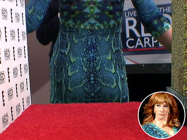 Kathy Griffin Flaunts Booty, Thanks Bieber for Sharing His 'Calm-Down Juice'