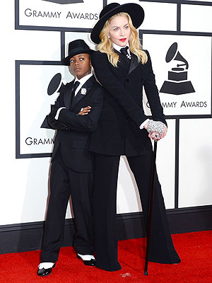 Madonna: My Son David Chose Our Grammys Look