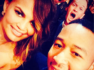 PHOTO: Neil Patrick Harris Photobombs John Legend & Chrissy Teigen | Chrissy Teigen, John Legend, Neil Patrick Harris