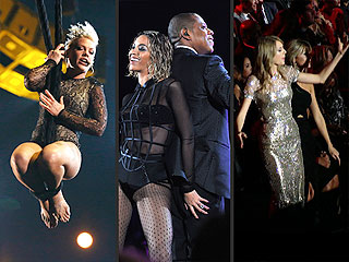 VOTE: What Was the Grammys' Hottest Performance? | Beyonce, Jay-Z, Pink, Taylor Swift