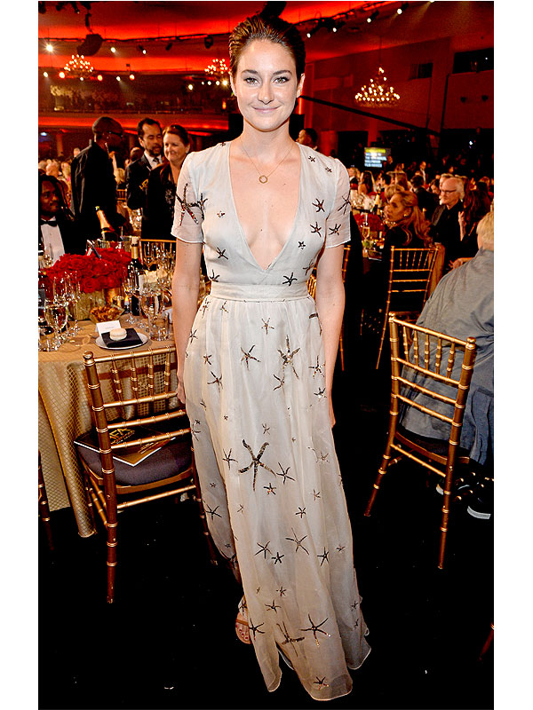 Shailene Woodley Hollywood Film Awards 2014