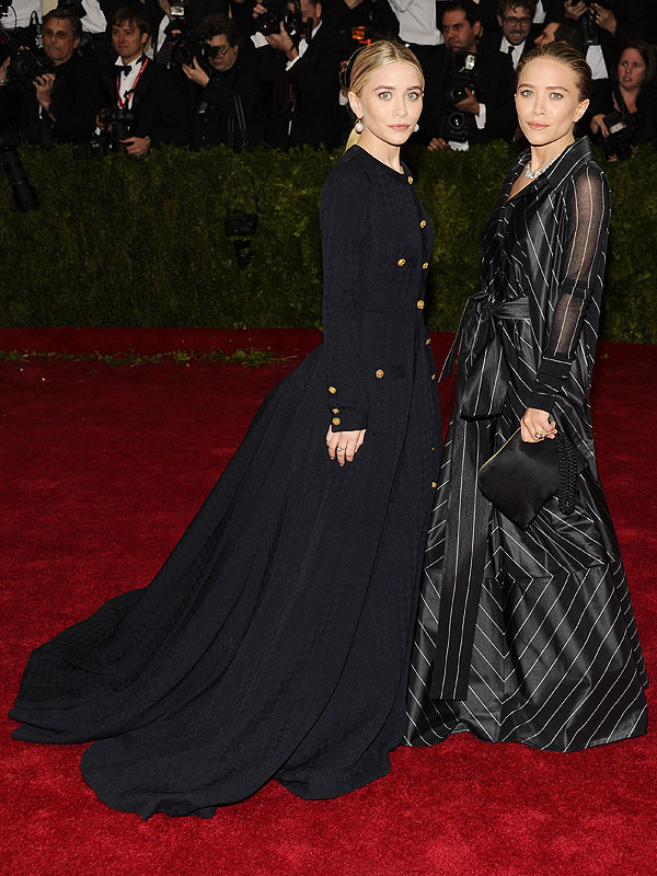 MAry-Kate and Ashley Olsen Met Gala 2014