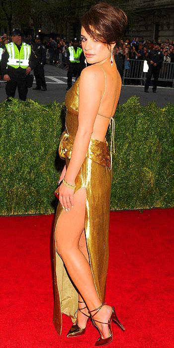Lea Michele Met Gala 2014