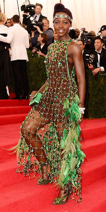 Lupita Nyong'o Met Gala gown