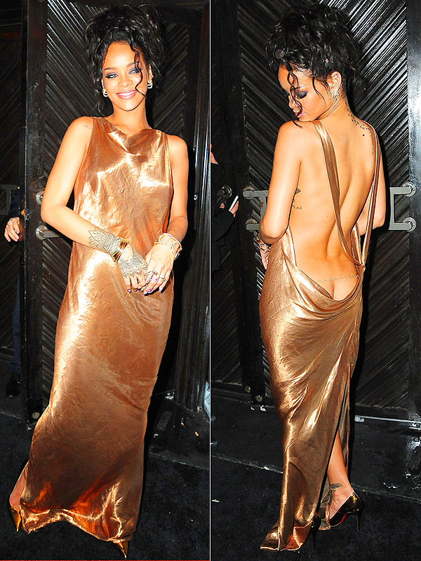 Rihanna Met Gala afterparty dress Stella McCartney