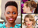 The Best and Boldest Beauty of Awards Season … So Far | Amy Adams, Lupita Nyong'o, Taylor Swift
