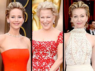Hair Trend: Jennifer, Portia and Bette Sport Short, Swept-Back Tresses