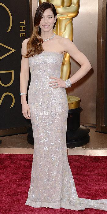 Jessica Biel Oscars 2014