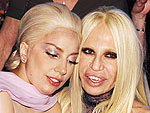 Who Did Lady Gaga Leave the Oscars to Hang With? (Hint: Fashion Royalty!) | Academy Awards, Donatella Versace, Lady Gaga