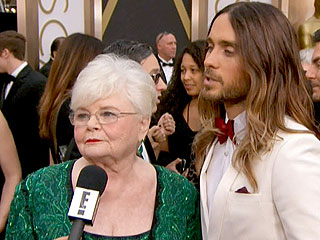 Jared Leto Continues His Red Carpet Flirt-a-thon with June Squibb