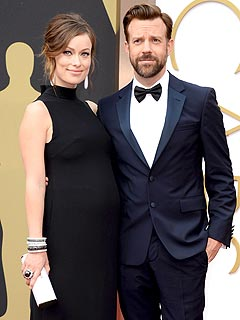 Olivia Wilde Jason Sudeikis Welcome Son