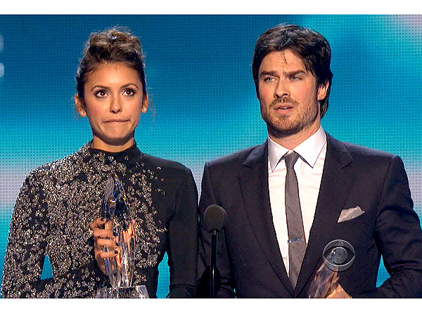 Watch Nina Dobrev & Ian Somerhalder Joke Onstage About Their Breakup
