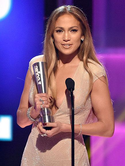 Jennifer Lopez at the PEOPLE Jennifer Lopez