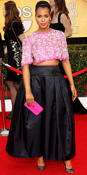 KERRY'S CROP TOP photo | Kerry Washington