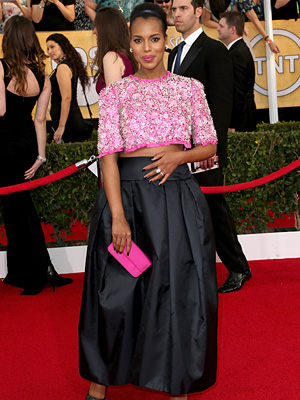 Kerry Washington Pregnant SAG Awards