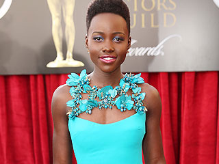 The Biggest Beauty Trend at the SAG Awards? Matchy Makeup | Screen Actors Guild Awards 2014, Individual Class, Elisabeth Moss, Lupita Nyong'o