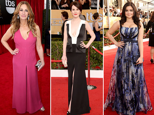 Julia Roberts, Michelle Dockery, Ariel Winter, SAG Awards 2014
