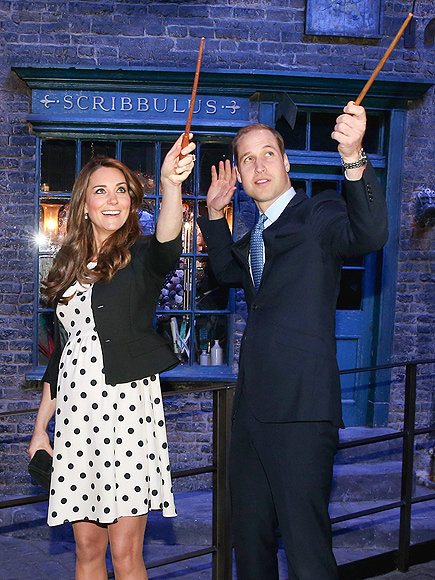 VISIT HOGWARTS photo | Prince William