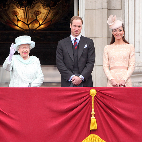 TOAST THE QUEEN'S DIAMOND JUBILEE photo | Prince William