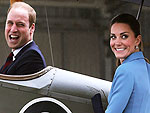 Kate & Will Fly High on Tour Day 4 | Kate Middleton, Prince William