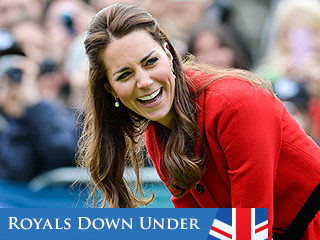 They're Game! Will & Kate Play Cricket Down Under | Kate Middleton