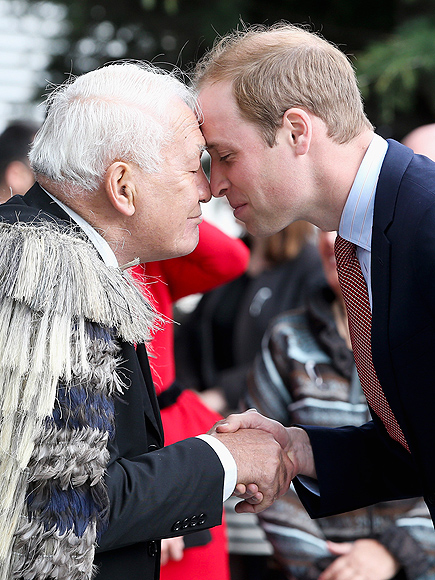 NICE TO 'NOSE' YOU photo   Prince William