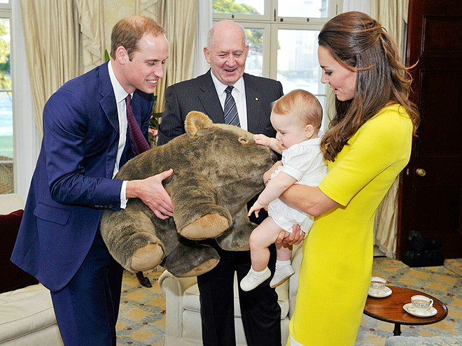 4. HE'LL GIVE GREAT HAND-ME-DOWNS photo | Kate Middleton, Prince William