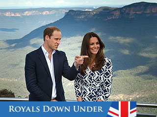 Will & Kate's Breathtaking Blue Mountains Adventure | Prince William