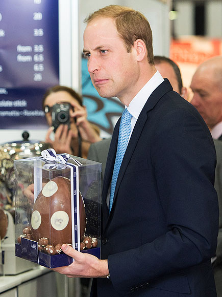 HE'S A GOOD EGG photo | Prince William