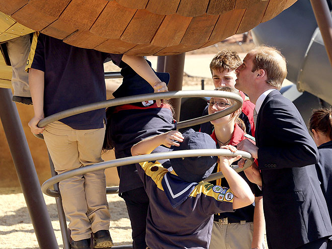 KIDDING AROUND photo | Prince William