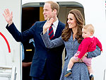 The Royals Say Goodbye to Australia | Kate Middleton, Prince George, Prince William