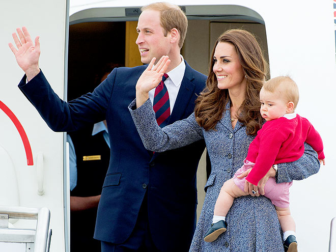 3. HE HAS TALES FROM AROUND THE WORLD photo | Kate Middleton, Prince George, Prince William