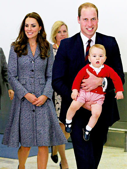 TWO PRINCES photo | Kate Middleton, Prince George, Prince William
