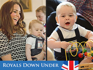 Prince George's New Zealand Playdate!