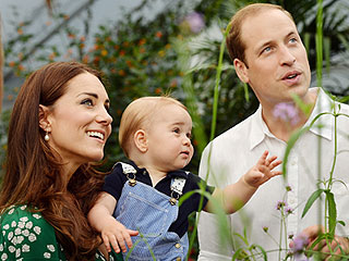 William, Kate and George: Back Home After Mustique Vacation