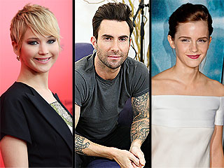 Checking Back on Celebrities' 2013 New Year's Resolutions | Adam Levine, Emma Watson, Jennifer Lawrence