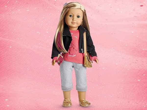 American Girl Doll Isabelle Comes with Pink Hair