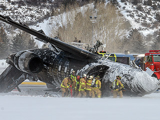 One Dead, Two Injured in Aspen Plane Crash