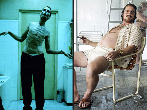 Christian Bale's Most Shocking Body Transformations | American Hustle, The Machinist, Christian Bale